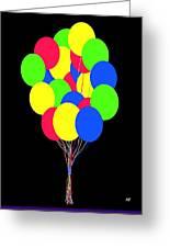 Kids Korner Balloons Greeting Card