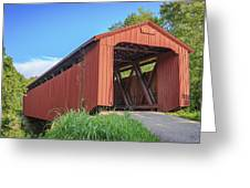Kidwell Covered Bridge Greeting Card