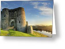 Kidwelly Castle 3 Greeting Card