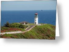 Kilauea Lighthouse Greeting Card