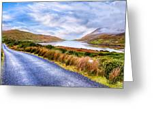 Killary Fjord In Ireland's Connemara Greeting Card by Mark E Tisdale