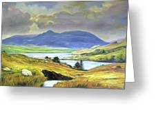 Killary Harbour County Mayo Greeting Card