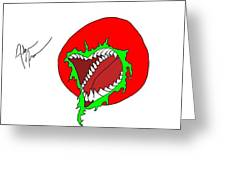 Killer Tomato Greeting Card