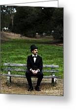 Killing Time Greeting Card by Jorgo Photography - Wall Art Gallery