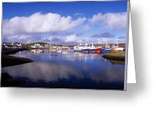 Killybegs, Co Donegal, Ireland Greeting Card