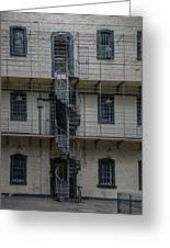 Kilmainham Gaol Spiral Stairs Greeting Card
