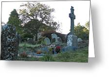 Kilmokea Graveyard Greeting Card