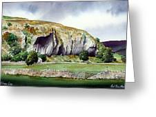 Kilnsey Crag Greeting Card