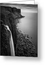Kilt Rock Waterfall Greeting Card