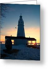 Kimberly Pointe Lighthouse Greeting Card