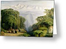 Kinchinjunga From Darjeeling Greeting Card