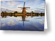 Kinderdijk Greeting Card by Chad Dutson