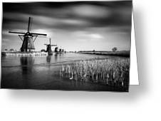 Kinderdijk Greeting Card