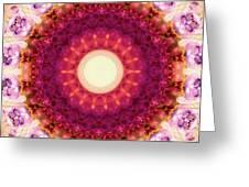 Kindness Mandala Art By Sharon Cummings Greeting Card