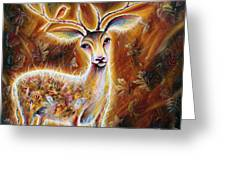 King-deer Greeting Card
