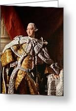 King George IIi Greeting Card by Allan Ramsay