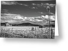 King Homestead_bw-1593 Greeting Card