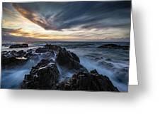 King Island Sunset Greeting Card