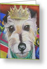 King Louie Greeting Card