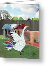 King Of The Hen House Greeting Card