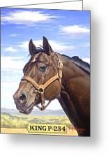 King P234 Greeting Card