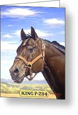 King P234 Greeting Card by Howard Dubois