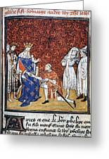 King Philip Iv Of France Greeting Card