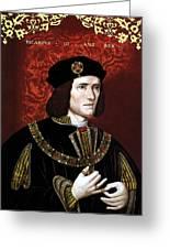 King Richard IIi Of England Greeting Card