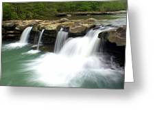 King River Falls Greeting Card