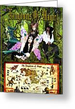 Kingdoms Of Magic Fairy Poster Greeting Card