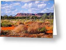 Kings Canyon - Northern Territory, Australia Greeting Card