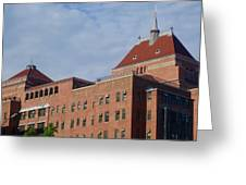 Kings County Hospital Center, Brooklyn Greeting Card