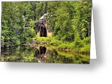 King's Landing Old Mill   Greeting Card