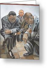 Kings Prayer At Selma Greeting Card