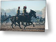 Kings Troop Rha Greeting Card
