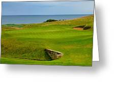 Kingsbarns Golf Links Hole #18 Greeting Card