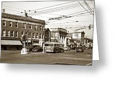 Kingston Corners Kingston Pa Early 1950s Greeting Card