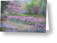 Kingwood Tulips Greeting Card