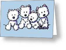 Kiniart Pocket Pawsse Greeting Card