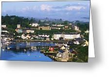 Kinsale, Co Cork, Ireland View Of Boats Greeting Card