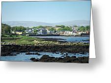 Kinvara Seaside Village Galway Ireland Greeting Card