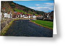 Kinzig River Greeting Card