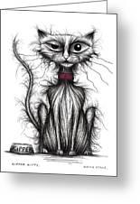 Kipper Kitty Greeting Card