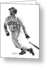 Kirby Puckett Greeting Card by Harry West