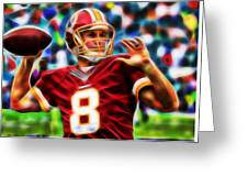 Kirk Cousins Greeting Card