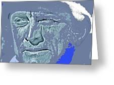 Kirk Douglas Old Tucson Arizona Number 2 1971-2008 Greeting Card