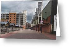 Kirkgate Market Greeting Card