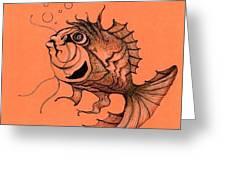 Kishi Fish Greeting Card