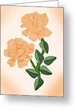Kiss From A Rose Greeting Card