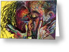 Kiss Me You Big Dick Greeting Card by James Thomas